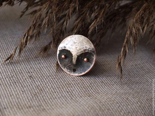"""Кольца ручной работы. Ярмарка Мастеров - ручная работа. Купить Кольцо """"Луноликий"""". Handmade. Человечек, луноликий"""