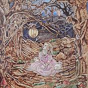 """Картины и панно ручной работы. Ярмарка Мастеров - ручная работа Картина """"Не страшно"""". Handmade."""