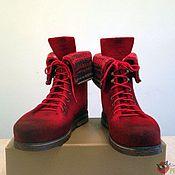 """Обувь ручной работы. Ярмарка Мастеров - ручная работа Женские ботинки """"Red peppers"""". Handmade."""