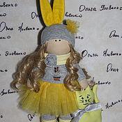 куколка текстильная -интерьерная