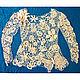 Блузки ручной работы. Ярмарка Мастеров - ручная работа. Купить Блуза вязаная крючком в технике ирландского кружева с 3-Д еффектом.. Handmade.