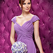 Свадебный салон handmade. Livemaster - original item Lilac brooch-bouquet