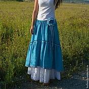 Одежда handmade. Livemaster - original item Skirt to the floor,