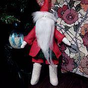 Куклы и игрушки ручной работы. Ярмарка Мастеров - ручная работа тильда санта в валенках. Handmade.