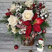 """Цветы и флористика ручной работы. Ярмарка Мастеров - ручная работа """"Рождество"""". Handmade."""