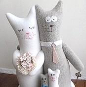 Свадебный салон ручной работы. Ярмарка Мастеров - ручная работа Неразлучники коты. Handmade.