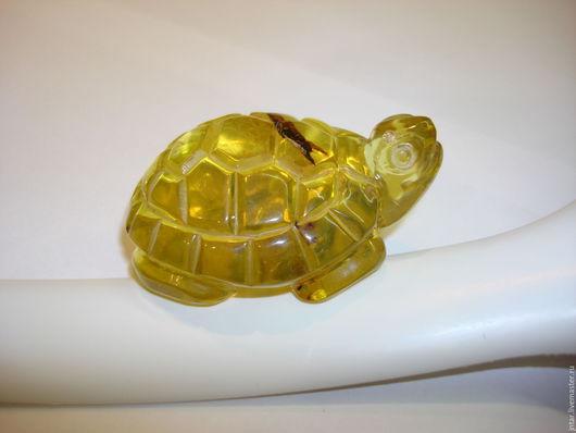 """Миниатюрные модели ручной работы. Ярмарка Мастеров - ручная работа. Купить фигурка из янтаря """"черепаха"""" - 2. Handmade. Янтарь натуральный"""