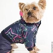Для домашних животных, ручной работы. Ярмарка Мастеров - ручная работа Одежда для собак Комбинезон Звездное небо. Handmade.