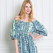 Одежда ручной работы. Ярмарка Мастеров - ручная работа Длинное платье из льна. Handmade.