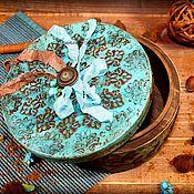 """Для дома и интерьера ручной работы. Ярмарка Мастеров - ручная работа Короб """"Mint Truffle"""". Handmade."""