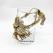 Посуда handmade. Livemaster - original item Raki Beer Glass. Handmade.