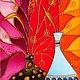 """Натюрморт ручной работы. Ярмарка Мастеров - ручная работа. Купить """"Натюрморт с колосками"""" Витражная роспись стекла. Handmade. Картина в подарок"""