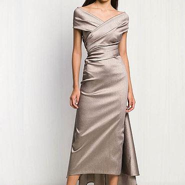 Одежда ручной работы. Ярмарка Мастеров - ручная работа Вечернее платье длинное 767В. Handmade.