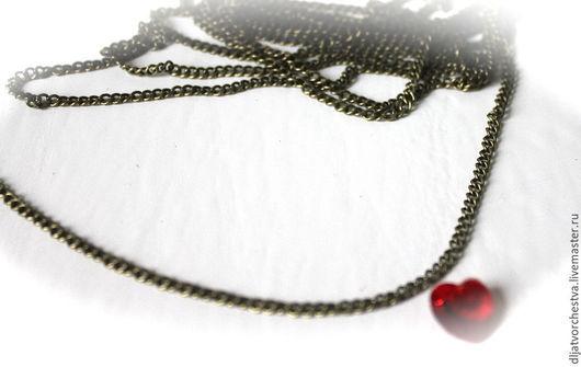 Для украшений ручной работы. Ярмарка Мастеров - ручная работа. Купить Цепочки. Handmade. Античная бронза, цепочки, Скрапбукинг, цепь