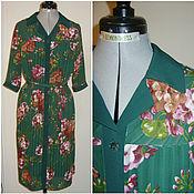 """Одежда ручной работы. Ярмарка Мастеров - ручная работа Платье-рубашка """"Гортензия"""". Handmade."""