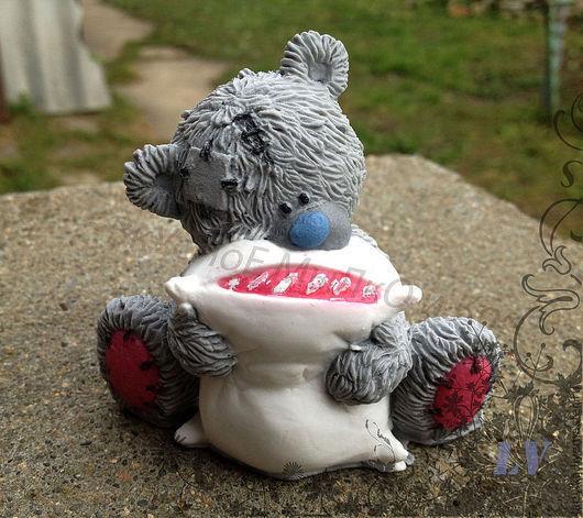 """Мыло ручной работы. Ярмарка Мастеров - ручная работа. Купить Мыло для рук """"Тедди с подушкой"""". Handmade. Тедди, тедди медведи"""