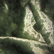 Материалы для творчества ручной работы. Ярмарка Мастеров - ручная работа Плюш нежного зеленого цвета. Handmade.