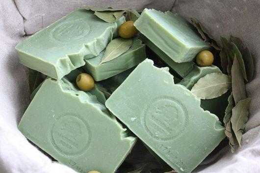 """Мыло ручной работы. Ярмарка Мастеров - ручная работа. Купить Мыло с нуля """"Аллепское"""". Handmade. Оливковый, натуральное мыло, маслины"""