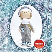 Материалы для творчества handmade. Livemaster - original item Set to create dolls in overalls, a gift for March 8. Handmade.