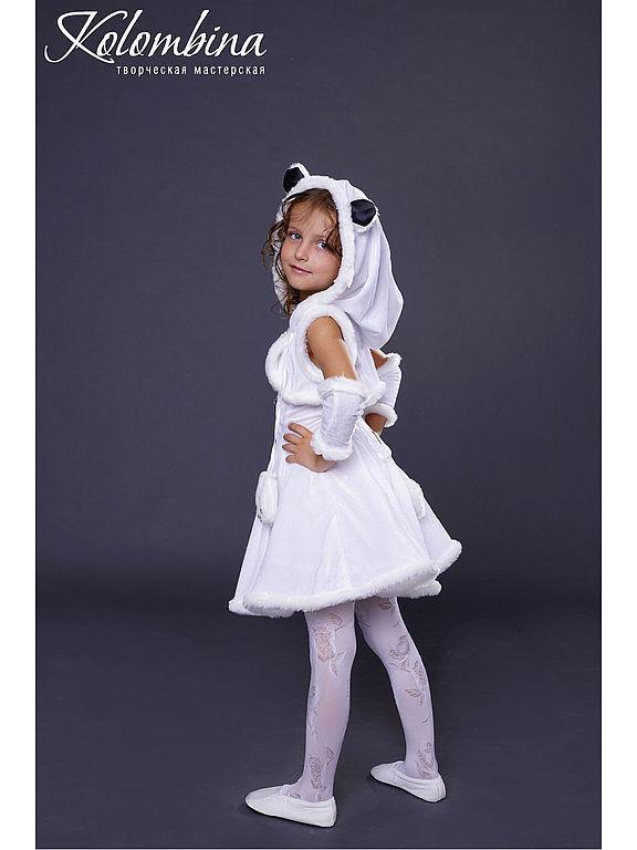Как сделать костюм белого медведя
