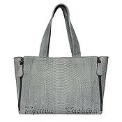 Сумки и аксессуары handmade. Livemaster - original item Bag made of Python CLOUDY. Handmade.