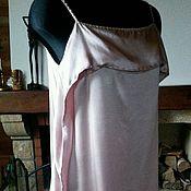 """Одежда ручной работы. Ярмарка Мастеров - ручная работа Платье из шелка """"Кокетка"""". Handmade."""