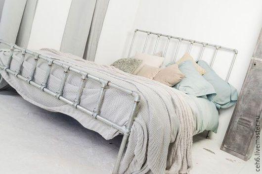 Мебель ручной работы. Ярмарка Мастеров - ручная работа. Купить Кровать в лофт. Handmade. Спальня, кровать, лофт стиль, лофт
