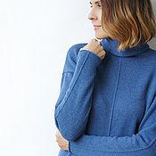 Одежда handmade. Livemaster - original item Sweater cashmere jeans. Handmade.