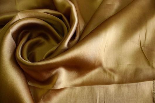 Шитье ручной работы. Ярмарка Мастеров - ручная работа. Купить Плательно-блузочный атлас MAX MARA,950руб-м. Handmade.