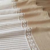 Для дома и интерьера handmade. Livemaster - original item Tulle flax