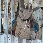 """Сумки и аксессуары ручной работы. Ярмарка Мастеров - ручная работа Муми-рюкзак """"1946"""". Handmade."""