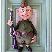 Куклы и игрушки ручной работы. Ярмарка Мастеров - ручная работа Солдат Чонкин.. Handmade.