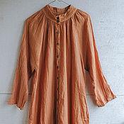 Платья ручной работы. Ярмарка Мастеров - ручная работа Платье из органического хлопка. Handmade.
