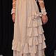 Платья ручной работы. платье  бохо стиль богемы handmade  ,,Миледи,,. творческая мастерская LUCKYSTYLE. Ярмарка Мастеров. Оборки