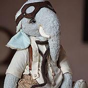 Куклы и игрушки ручной работы. Ярмарка Мастеров - ручная работа Слон Бруно. Handmade.