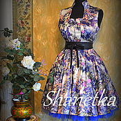 Одежда ручной работы. Ярмарка Мастеров - ручная работа Платье ретро стиляги new-look винтаж. Handmade.