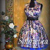 Одежда handmade. Livemaster - original item Dress retro hipsters new-look vintage. Handmade.