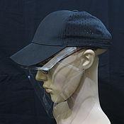 Аксессуары handmade. Livemaster - original item Face shield, mask, screen compatible with the headdress. Handmade.