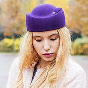Аксессуары handmade. Livemaster - original item Autumn hat-pilotka