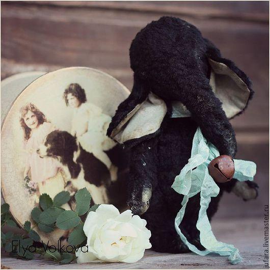 Мишки Тедди ручной работы. Ярмарка Мастеров - ручная работа. Купить Слоня 4. Handmade. Черный, сувенир, ретро