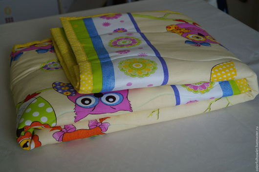 """Пледы и одеяла ручной работы. Ярмарка Мастеров - ручная работа. Купить Детское одеяло """" Сладкий сон"""". Handmade."""