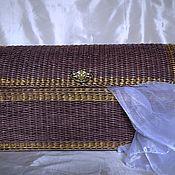 Basket handmade. Livemaster - original item Chest wicker. Handmade.