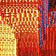Абстракция ручной работы. Панно Восточный мотив в технике гобелен шерсть/акрил. Мария. Ярмарка Мастеров. Гобеленовые панно купить