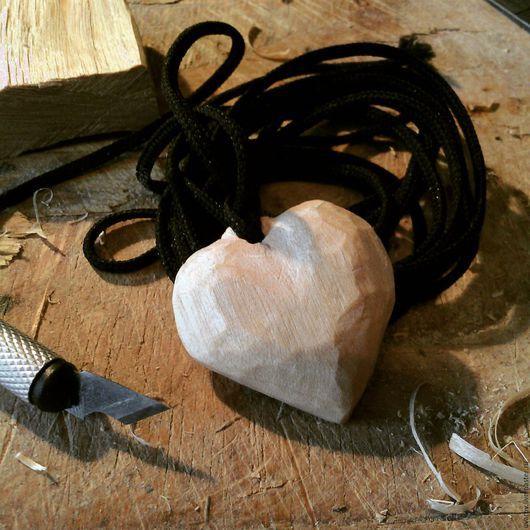 """Кулоны, подвески ручной работы. Ярмарка Мастеров - ручная работа. Купить Кулон """"Сердце"""". Handmade. Дерево, кулон, подвеска"""