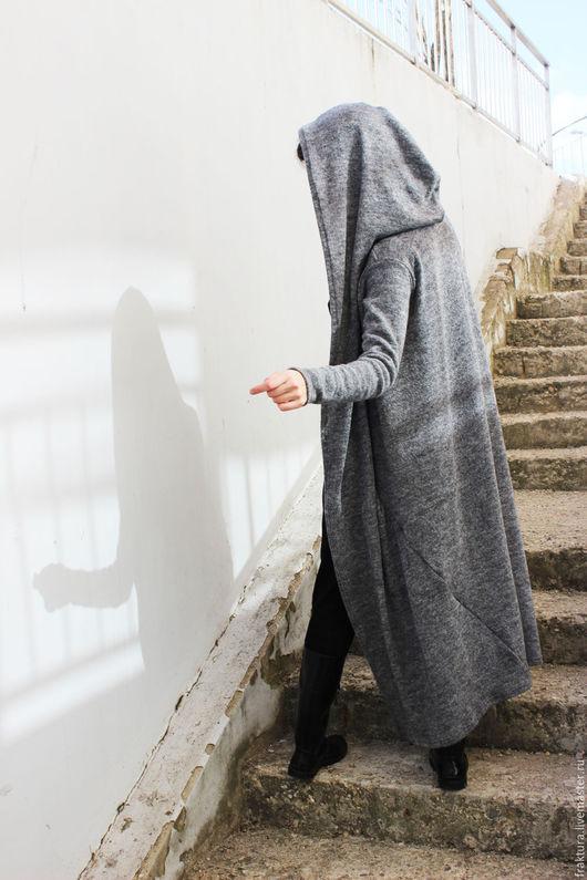 """Верхняя одежда ручной работы. Ярмарка Мастеров - ручная работа. Купить Жилет """"Grey Style"""" V0001. Handmade. Верхняя одежда"""