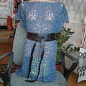 Одежда ручной работы. Ярмарка Мастеров - ручная работа топ-туника крючком. Handmade.