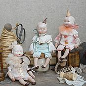 Куклы и игрушки ручной работы. Ярмарка Мастеров - ручная работа Крошки-Пьерошки. Handmade.