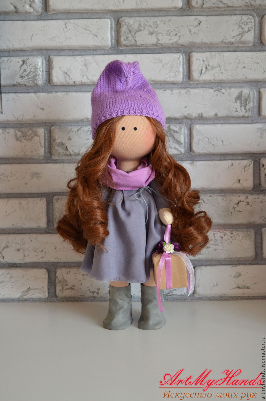 Текстильная кукла от макушки до пяточек Ярмарка Мастеров 34
