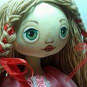 Мягкие игрушки ручной работы. Ярмарка Мастеров - ручная работа Кукла игровая Милена. Handmade.