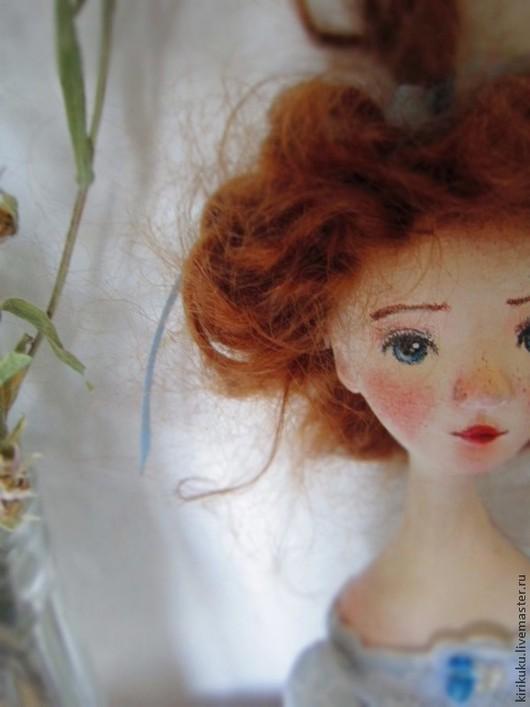 Коллекционные куклы ручной работы. Ярмарка Мастеров - ручная работа. Купить Betty Blue.... Handmade. Голубой, куколка